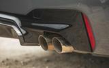 10 BMW M5 CS 2021 UK FD exhausts