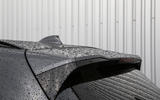 BMW X3 M40i 2018 UK review boot spoiler