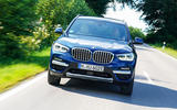 BMW X3 xDrive30e 2020 first drive review - on the road nose