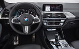 BMW X4 2018 first drive review dashboard