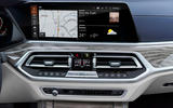 BMW X7 2019 first drive review - infotainment