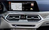 BMW X7 2019 first drive review - infotainment