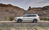 BMW X7 M50i 2020 first drive review - on the road side