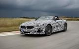 BMW Z4 prototype drive 2018 track front