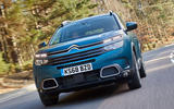 Citroen C5 Aircross 2019 UK first drive review - on the road nose