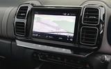 Citroen C5 Aircross Hybrid 2020 UK first drive review - infotainment