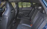 10 Cupra Leon 2021 UK FD rear seats