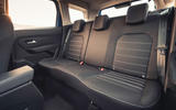 10 Dacia Duster diesel 4x4 2021 UK first drive review rear seats