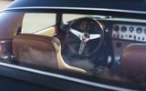 Eagle Lightweight GT 2020 UK first drive review - cabin through glass