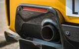 Ferrari 488 Pista Spider 2019 first drive review - exhaust
