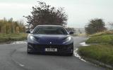 Ferrari 812 GTS 2020 UK first drive review - cornering front