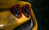 Ferrari F8 Tributo Spider 2020 UK first drive review - rear lights