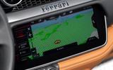 10 Ferrari Portofino M 2021 UK FD infotainment