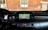 Fiat 500x Sport 2019 first drive review - navigation