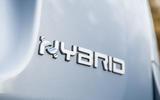 Fiat Panda Cross Hybrid 2020 first drive review - rear badge