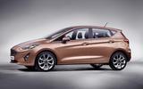 Ford Fiesta - side