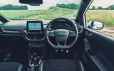 10 Ford Fiesta ST Mountune m260 2021 UK FD dashboard