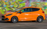 Ford Fiesta ST Performance 2019 first drive review - on the road side