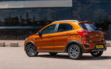 Ford Ka+ Active 2018 first drive review static rear