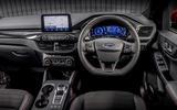 10 Ford Kuga FHEV 2021 UK FD dashboard