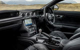 10 Ford Mustang Mach 1 2021 UK first drive review cabin