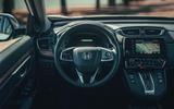 Honda CR-V hybrid 2019 first drive review - dashboard