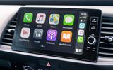 Honda Jazz Crosstar 2020 UK first drive review - infotainment Apple
