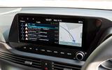 Hyundai i20 2020 UK first drive review - infotainment