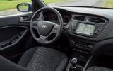 Hyundai i20 2018 review cabin