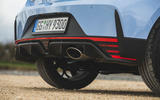 10 Hyundai i20 N 2021 UK first drive review exhaust