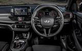 Hyundai i30 Fastback N 2019 UK first drive review - dashboard