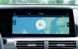 Hyundai Nexo 2019 first drive review sat-nav