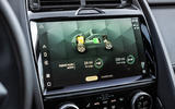 10 Jaguar E Pace P300e 2021 uk first drive review infotainment