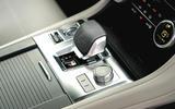 10 Jaguar F Pace SVR 2021 UK first drive review centre console