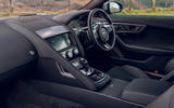 Jaguar F-Type 2020 UK first drive review - cabin