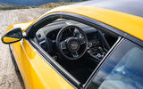 Jaguar F-Type Coupé 2020 first drive review - cabin