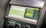 Jaguar F-Type MY2018 first drive review - satnav