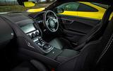Jaguar F-Type R 2020 - interior