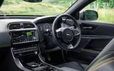 Jaguar XE 300 Sport 2018 UK first drive review cabin
