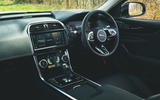 10 Jaguar XE P250 R Dynamic 2021 UK FD dashboard