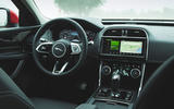 Jaguar XE P300 2019 first drive review - dashboard