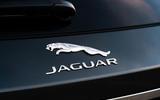 10 Jaguar XF Sportbrake 2021 UK first drive review rear badge