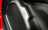 Jeep renegade Longitude 2019 UK first drive review - speaker grilles