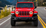 Jeep Wrangler (JL) Unlimited Rubicon 2018 review on road front