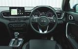 Kia Ceed 2018 long-term review - dashboard