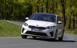 Kia Ceed Sportswagon PHEV 2020 first drive - on the road front