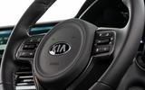 Kia Niro PHEV 2020 UK first drive review - steering wheel