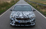 Kia Proceed GT 2018 prototype drive on the road front