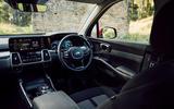 Kia Sorento hybrid 2020 UK first drive review - dashboard