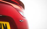 10 Kia Stinger GT S 2021 UK review rear badge
